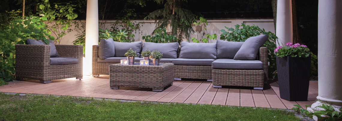 image of outdoor living space